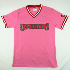 Hickory Crawdads Womens/Youth M/L Pink Promotional Jersey Texas Rangers MiLB
