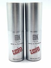 2PK MAKEUP Y5 SPRAY ON ERA FACE MIST SUMMER WHEAT SHADE COSMETICS FOUNDATION 1.5