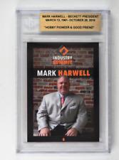 2017 Industry Summit Memoriam Card Mark Harwell Beckett President Limited Run