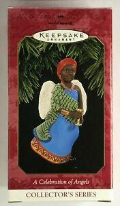 1997 Hallmark Keepsake Ornament A Celebration of Angels Kwanzaa African American