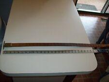 "BEAUTIFUL Antique 36"" Cleveland Rule Co, Doyle Log Rule-WOOD  Measuring DEVICE"