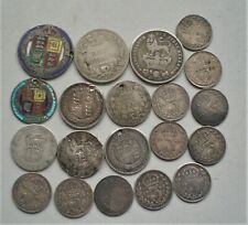 More details for uk pre 1920 silver coins 46 grams circulated condition, sold as scrap.{g894}