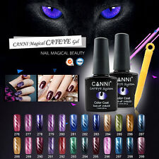24 Colours CANNI Nail Gel Magnetic 3D Cat Eyes Gel Nail Polish Varnish Lacquer