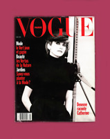 PARIS VOGUE MAGAZINE - MAY 1991 - CATHERINE DENEUVE by PETER LINDBERGH
