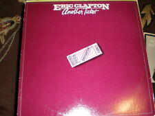 Eric Clapton LP Another Ticket PROMO WHITE LABEL