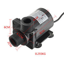 DC 12V 24V 1000L/H 5.5M Circulation Pump Solar Hot Water Pump Brushless Motor