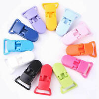10Pcs Baby Dummy Pacifier Clip Holder Soother Chain Safely Feeding Accessory