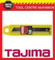 50 x TAJIMA ENDURA 9mm SNAP OFF UTILITY KNIFE BLADES – LCB30-50