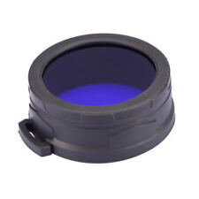 NiteCore NFB60 60mm Blue Lens Cap Filter Diffuser for EA8 MH40GT MH41 TM11 TM15