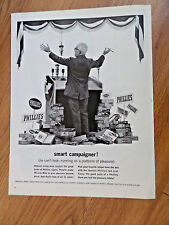 1962 Phillies Cigar Ad   Smart Campaigner