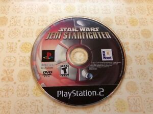 Star Wars Jedi Starfighter (PlayStation 2 PS2) - DISC ONLY - A1137