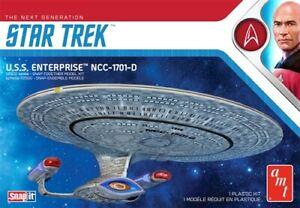 AMT 1/2500 Star Trek The Next Generation USS Enterprise NCC1701D (Snap) AMT1126