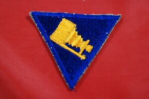 WORLD WAR II  AERIAL PHOTOGRAPHER TRIANGLE PATCH - #M14519