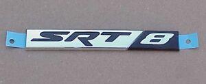 NEW Mopar 2012 2013 Chrysler 300 Jeep Grand Cherokee BLACK SRT8 Fender Nameplate