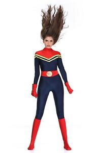 Complete Outfit Super Hero Astronaut Space Multi-Use Bodysuit Costume Size 8-12