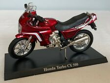 Honda Turbo Cx 500 Diecast Model Bike
