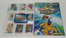 Full Set of Digimon Stickers with Binder!