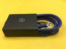 Genuine Audio Cable 3.5mm/ L Cord/ for Beats by Dr Dre Headphones Aux & Mic Blue