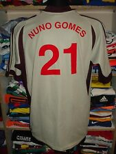 #21 NUNO GOMES BENFICA LISBON 2001/2002 AWAY SHIRT SIZE L CAMISETA JERSEY f438
