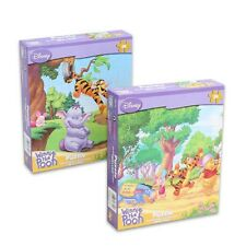 """2-Pack Disney Winnie the Pooh and Friends Jigsaw Puzzle - 24 Pieces - 10.375"""""""