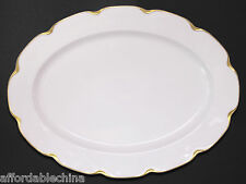 "Haviland SILVER ANNIVERSARY Gold Large 16 1/4"" Wide Platter"