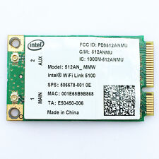 HP EliteBook 2530p 2730p 6930p 8530p 8730w Wireless N Dual Band WIFI WLAN Card
