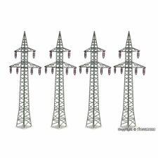 KIBRI 38533 1/87 MAQUETTE HO KIT 4 PYLONES ELECTRIQUES HAUTE TENSION H0