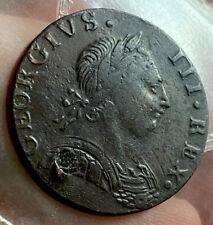 George  1/2 Penny 1775  Non Regal