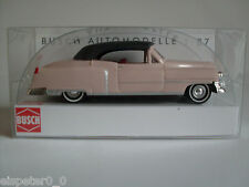 Busch 43421, CADILLAC '52 Cabrio, chiuso» Rosé «, H0 AUTO MODELLO 1:87