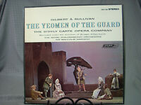 Gilbert And Sullivan The Yeomen Of The Guard Malcolm Sargent  LP Box Set London