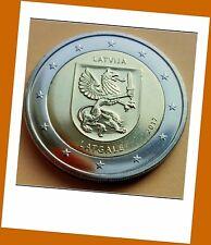 2 Euro Gedenkmünze Lettland  2017 - Region Lettgallen Latgale - lieferbar