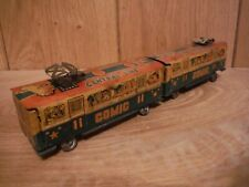 Tinplate Train Carraiges Comic Circus Central line Made in Japan Rare (014)