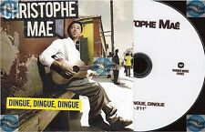 CHRISTOPHE MAE DINGUE DINGUE DINGUE DVD PROMO no cd CLIP