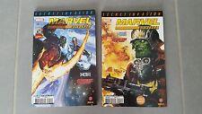 Lot de 2 comics MARVEL UNIVERSE : SECRET INVASION