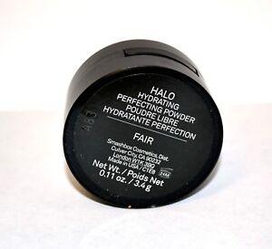 Smashbox HALO Hydrating Perfecting Powder FAIR JUMBO 0.67 oz w/ Brush SEALED