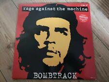 "RAGE AGAINST THE MACHINE Bombtrack 12"" VINYL UK"