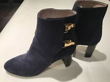 Chloe Blue Suede Boots Size 40