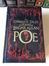 The Complete Tales and Poems of Edgar Allan Poe leather-bound - ships in a box