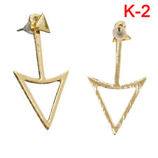 1 Pair Fashion Women Lady Elegant Crystal Rhinestone Ear Stud Earrings Charm BH