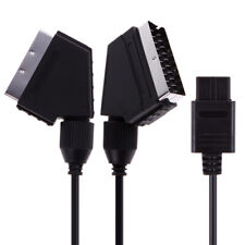 Nintendo Snes Gamecube Und N64 Konsole A/V TV Video Scart RGB Kabel / Posten #OS