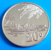 Tokelau 20 cents 2012 UNC Ship Boat