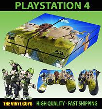 PS4 PIEL LITTLE BIG PLANET 3 Sackboy Oddsock NUEVO Pegatina + 2x Pad vinilo