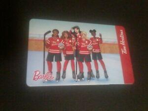 Tim Hortons Gift Card 2020 Barbie FD71566 NEW