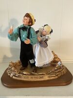 RARE Vintage SIMPICH Character Dolls Tom Sawyer And Becky LOST IN THE CAVE