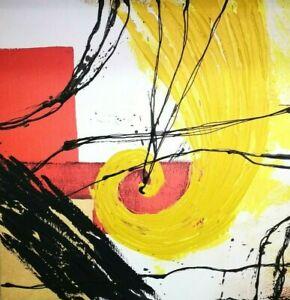 Playcolor Painting D'Decor Decorative Modern Abstract 70x70 Acrylic Canvas 02