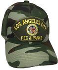 City Of Los Angeles Rec & Parks Camo Baseball Cap