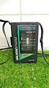 Sony Walkman WM-F22 (1985)