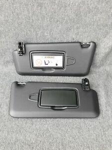 Mercedes w253 w205 Glc  Sun Visors pair black A2058107304  A2058107404