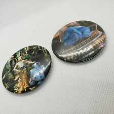 Vintage Lot 1983 Star Wars Sny Snootles and Endor Cast Button ROTJ Adam Joseph