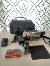 Sony Handycam DCR-TRV110 Digital 8 Hi8 Nightshot Camera Camcorder Bundle Tested